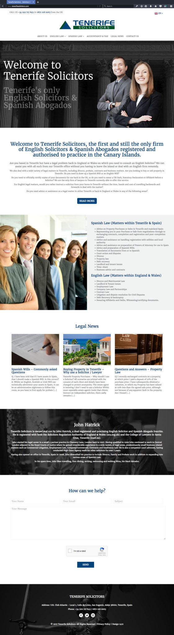 Tenerife Solicitors