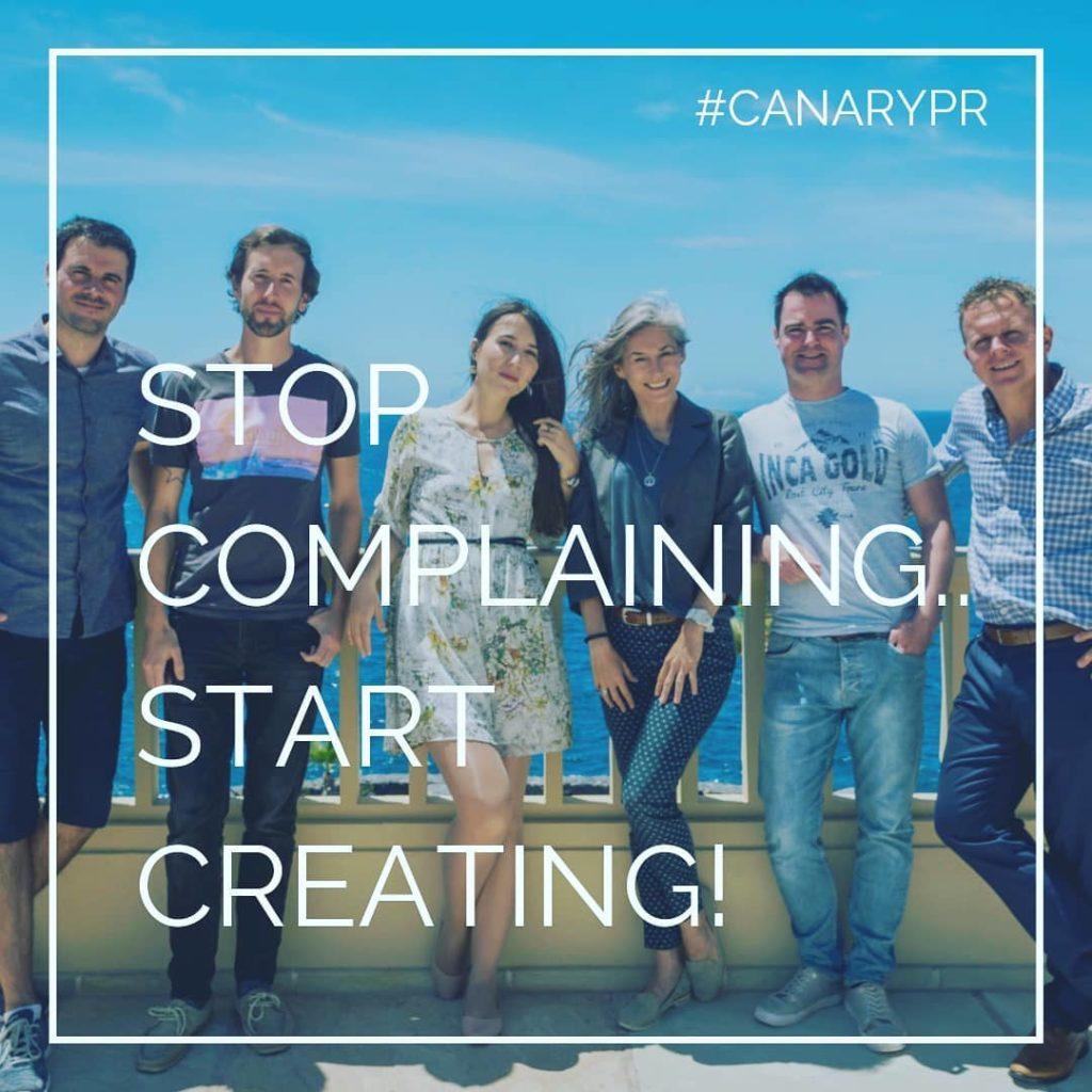 Canary PR team
